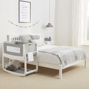 SnuzPod 3 Bedside Crib Bundle - Dusk 11