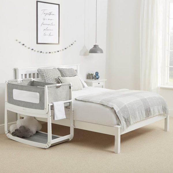 SnuzPod 3 Bedside Crib Bundle - Dusk 4