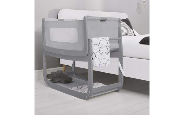 SnuzPod 3 Bedside Crib Bundle - Urban 4