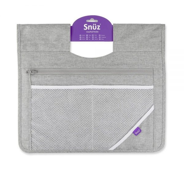 SnuzPod 3 Bedside Crib Bundle - Urban 3