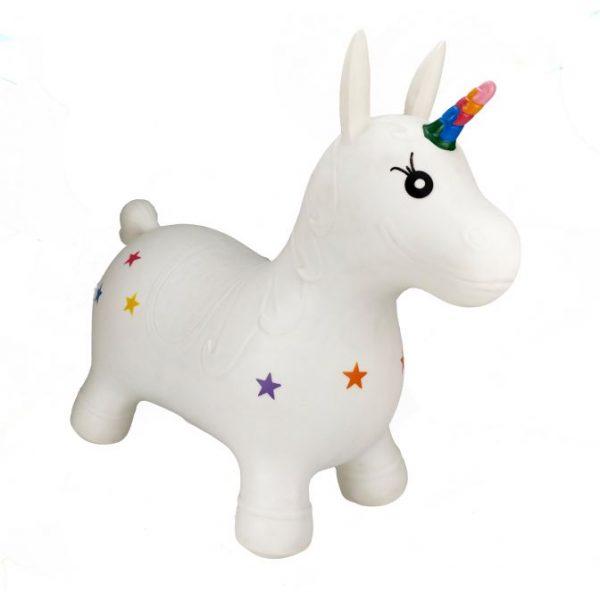 Happy Hopperz Bouncy Ride On Toy Unicorn 1