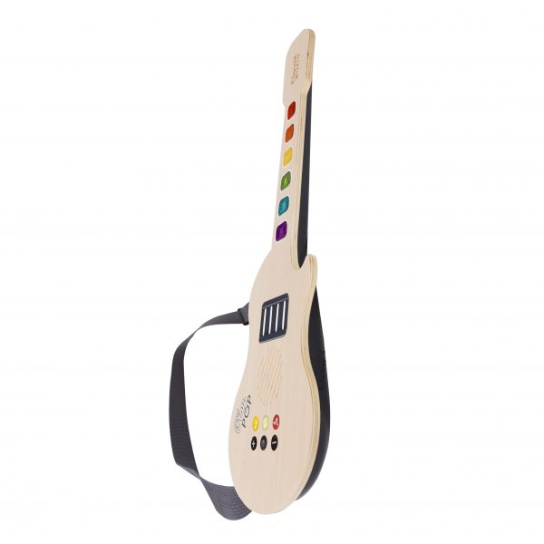 Classic World Wooden Glowing Guitar 1