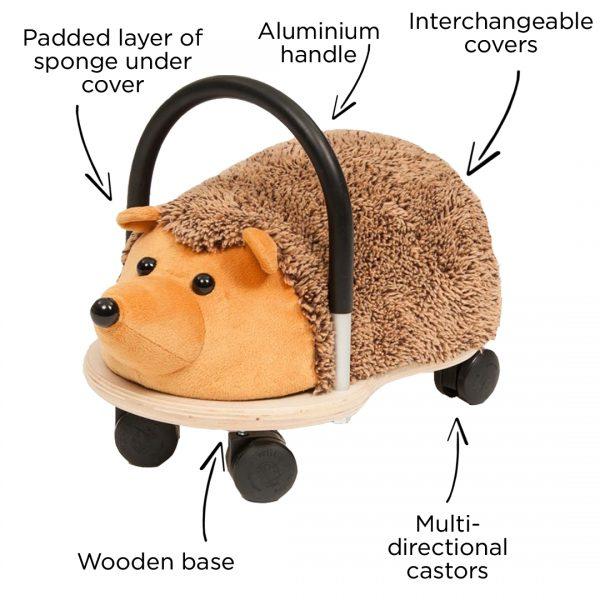 Wheely Bug Hedgehog Small 4