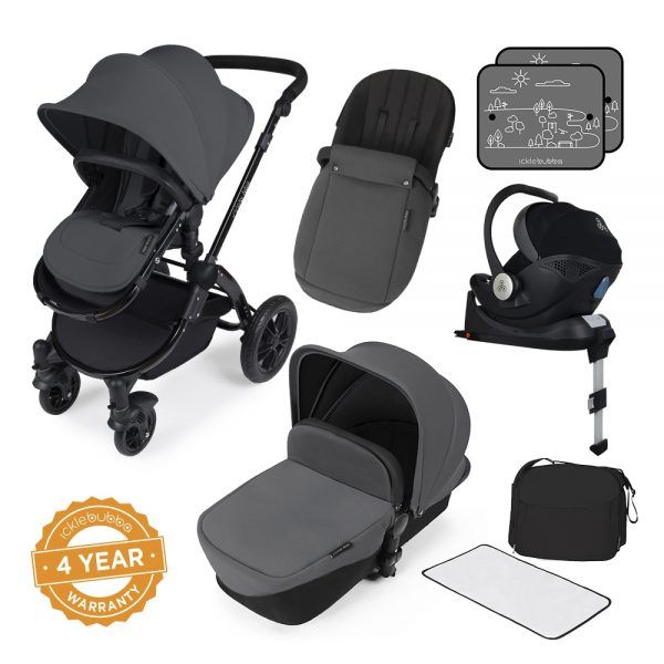 Ickle Bubba Stomp V3 All in One iSize - Graphite Grey 1
