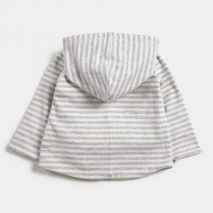 Mamas & Papas Striped Reversible Hoody 5