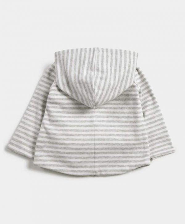Mamas & Papas Striped Reversible Hoody 2