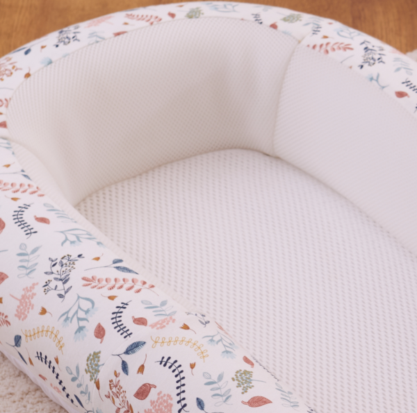 Purflo Sleep Tight Baby Bed - Botanical 5