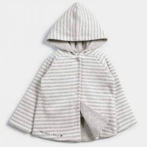 Mamas & Papas Striped Reversible Hoody 6