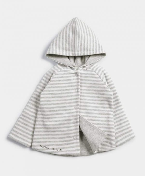 Mamas & Papas Striped Reversible Hoody 3