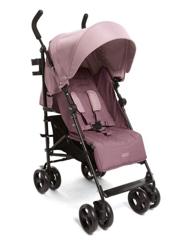 Mamas & Papas Cruise Stroller - Grape and Floral Footmuff 2
