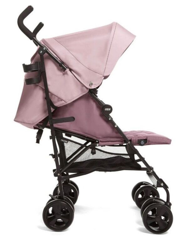 Mamas & Papas Cruise Stroller - Grape and Floral Footmuff 4