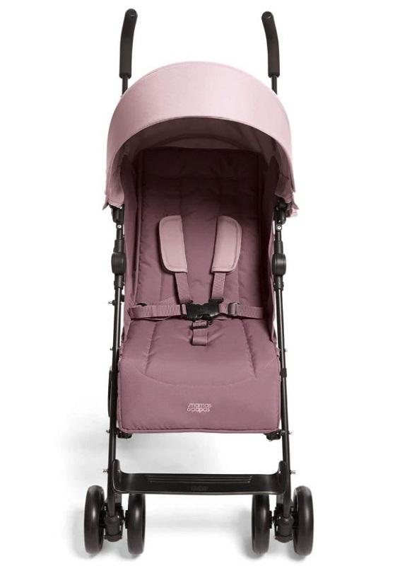 Mamas & Papas Cruise Stroller - Grape and Floral Footmuff 5
