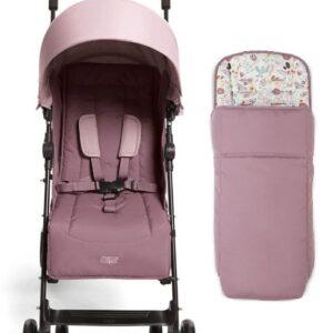Mamas & Papas Cruise Stroller - Grape and Floral Footmuff 8