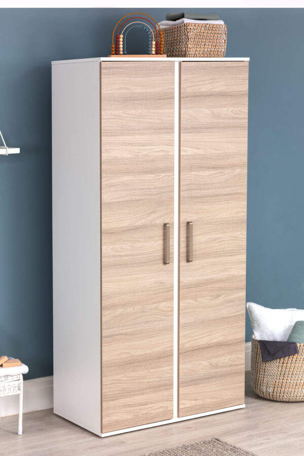 Silver Cross Finchley Cot Bed & Wardrobe 4