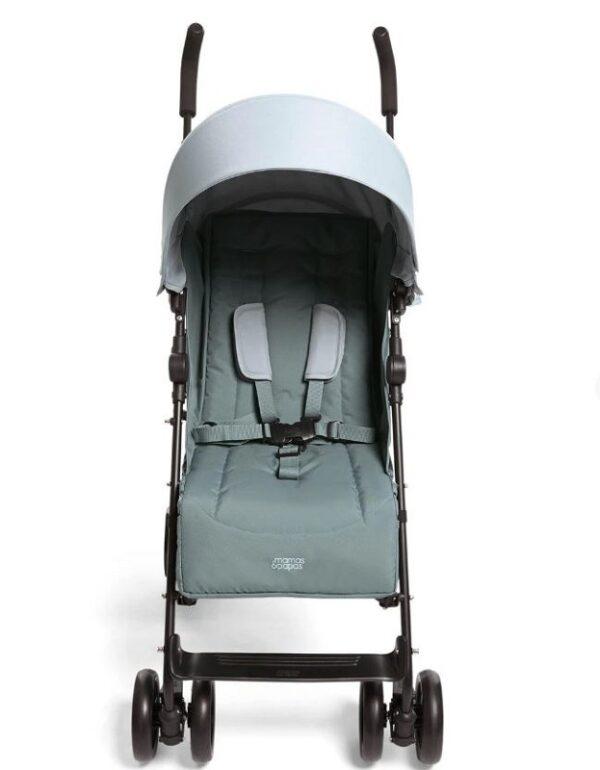 Mamas & Papas Cruise Stroller - Mint and Rocketman Footmuff 5