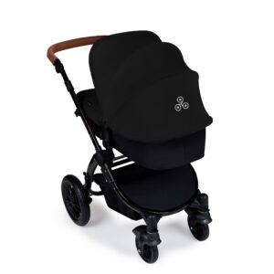 Ickle Bubba Stomp V3 All in One iSize - Black/ Black/Tan 18