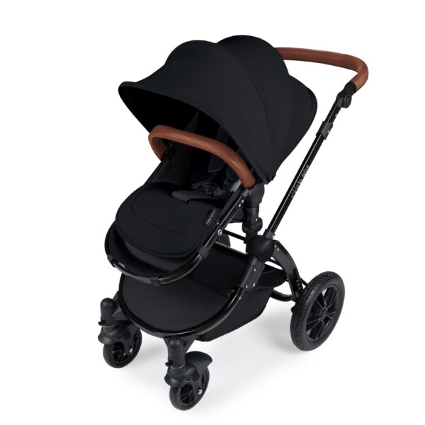 Ickle Bubba Stomp V3 All in One iSize - Black/ Black/Tan 5