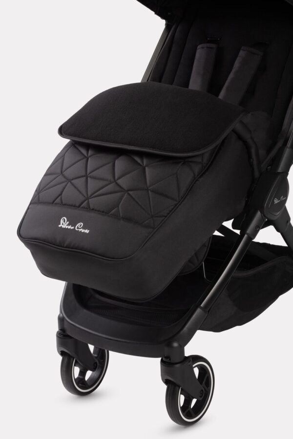 Silver Cross Clic Footmuff - Black 2