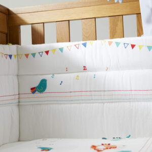 Silver Cross Cot/Cot Bed Bumper - Zoobaloo 5