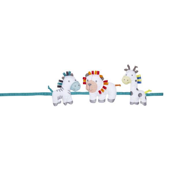 Silver Cross Tie Backs - Zoobaloo 3