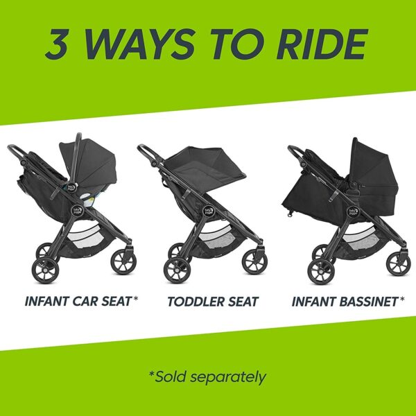 Baby Jogger City Mini GT 2 Factory Seconds - Slate 13