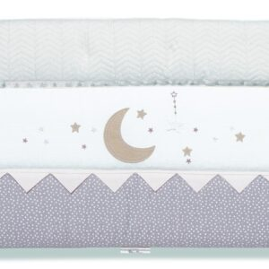 Silver Cross Cot/Cot Bed Bumper - To The Moon and Back 7