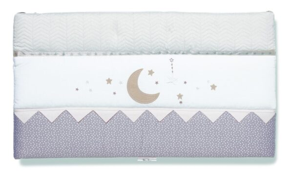 Silver Cross Cot/Cot Bed Bumper - To The Moon and Back 3