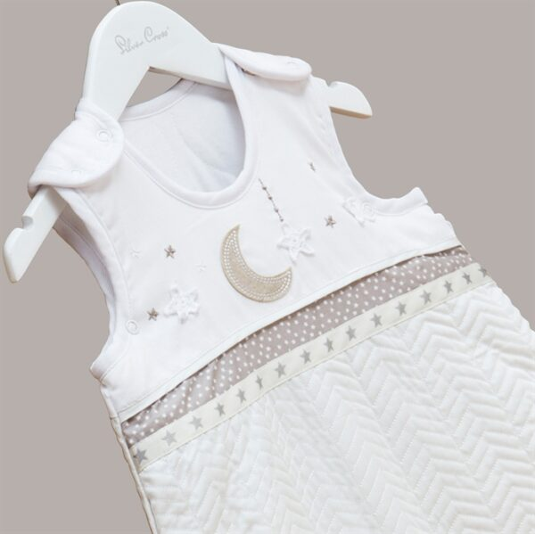Silver Cross Sleepsuit - To The Moon and Back 1