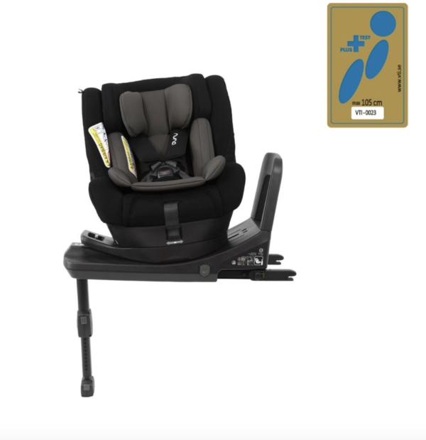 Nuna Norr Car Seat - Caviar 1