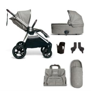 Mamas & Papas Ocarro & Pebble 360 iSize Complete Kit - Woven Grey 14