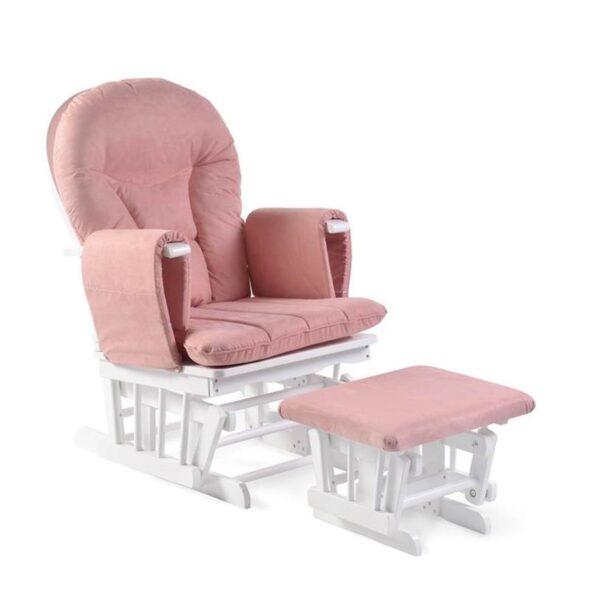Ickle Bubba Alford Nursing Chair - Blush Pink 1