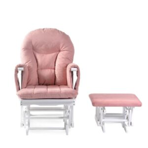 Ickle Bubba Alford Nursing Chair - Blush Pink 10