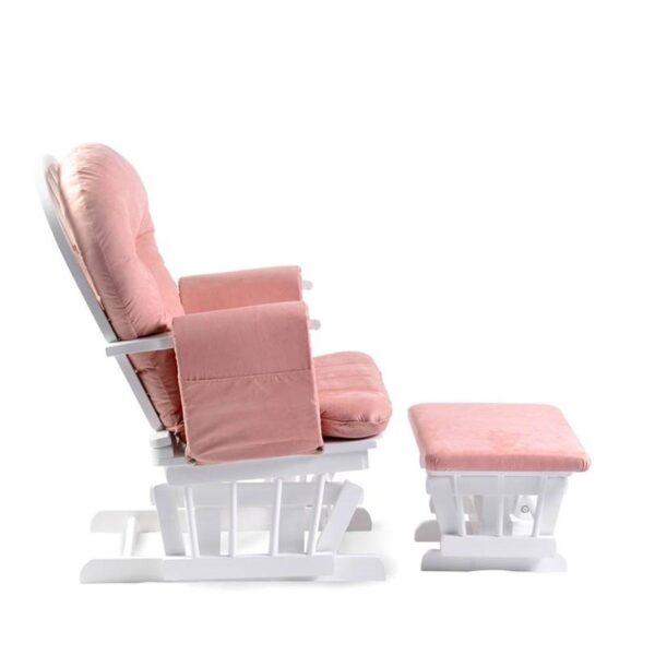 Ickle Bubba Alford Nursing Chair - Blush Pink 3