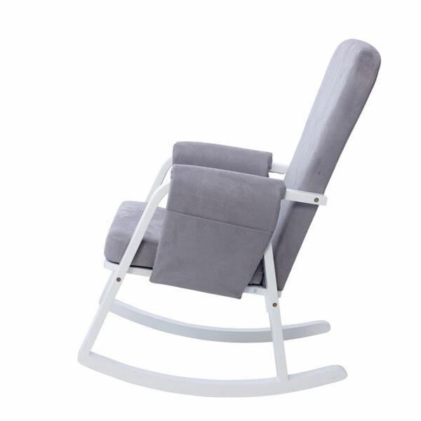 Ickle Bubba Dursley Nursing Chair - Pearl Grey 1