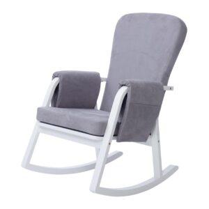 Ickle Bubba Dursley Nursing Chair - Pearl Grey 6