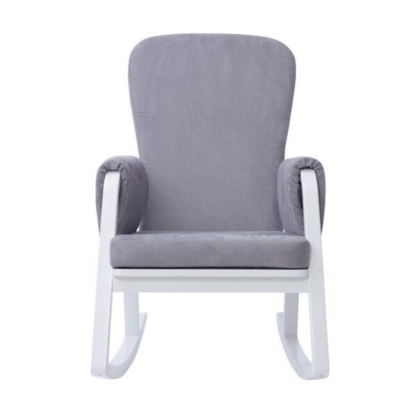 Ickle Bubba Dursley Nursing Chair - Pearl Grey 2