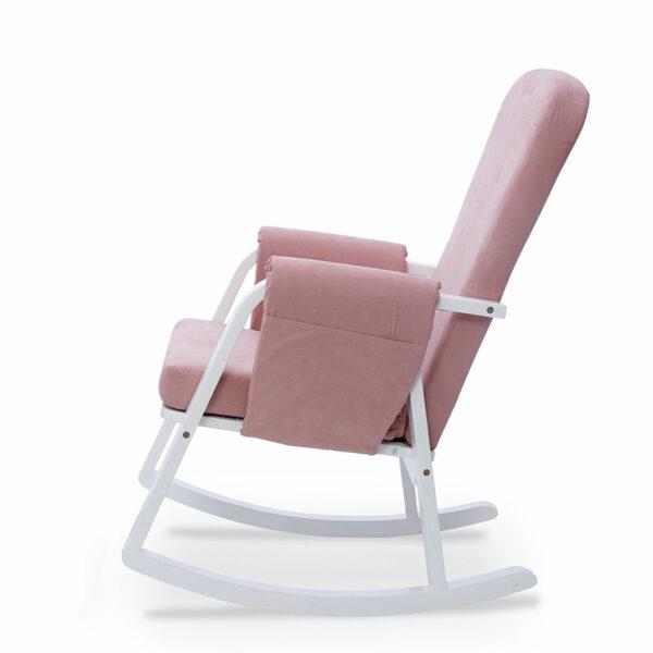 Ickle Bubba Dursley Nursing Chair - Blush Pink 1