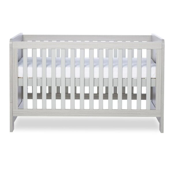 Ickle Bubba Pembrey Cot Bed - Ash Grey 2
