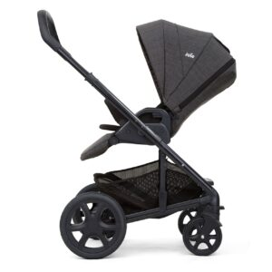 Joie Chrome DLX Pushchair and Carrycot inc. Footmuff - Pavement 10