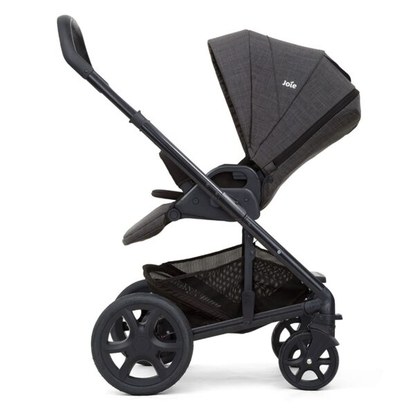 Joie Chrome DLX Pushchair and Carrycot inc. Footmuff - Pavement 3