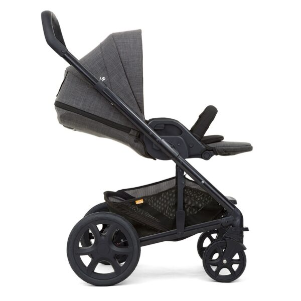 Joie Chrome DLX Pushchair and Carrycot inc. Footmuff - Pavement 5