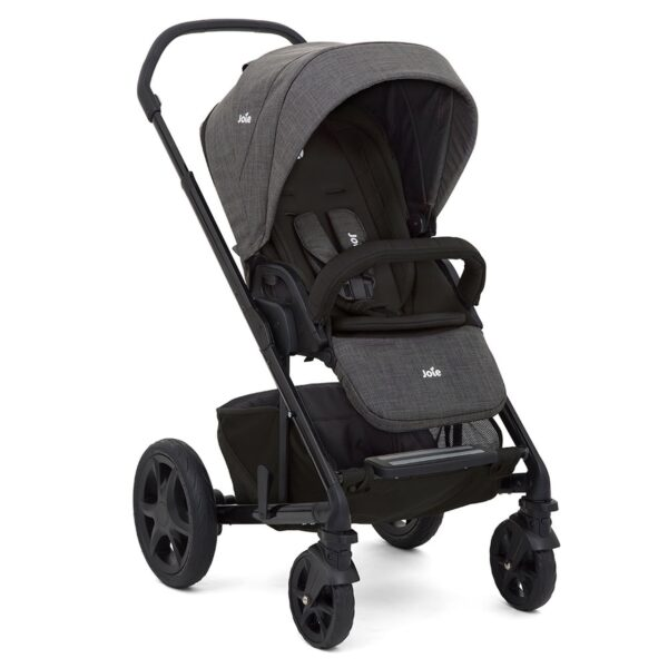 Joie Chrome DLX Pushchair and Carrycot inc. Footmuff - Pavement 7