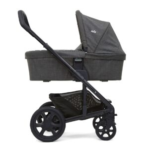 Joie Chrome DLX Pushchair and Carrycot inc. Footmuff - Pavement 9