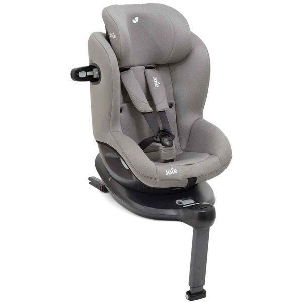Joie i-Spin 360 Group 0+/1 Car Seat - Grey Flannel 9