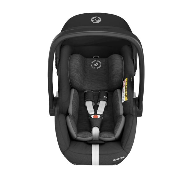 Maxi-Cosi Marble i-Size Car Seat & Isofix Base - Essential Black 5