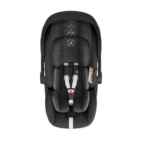Maxi-Cosi Marble i-Size Car Seat & Isofix Base - Essential Black 2