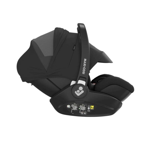 Maxi-Cosi Marble i-Size Car Seat & Isofix Base - Essential Black 1