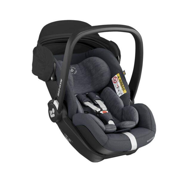 Maxi-Cosi Marble i-Size Car Seat & Isofix Base - Essential Graphite 6