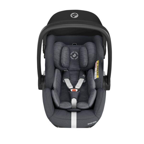 Maxi-Cosi Marble i-Size Car Seat & Isofix Base - Essential Graphite 5