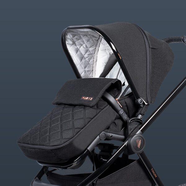 Venicci Tinum 2 Travel System - Special Edition Stylish Black 3